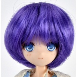 Парик объемное каре, 5 inch, фиолетовый