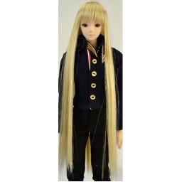 Парик с челкой, длинный, медовый блондин 4 inch