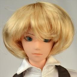 Парик объемное каре, светлый блондин 4 INCH