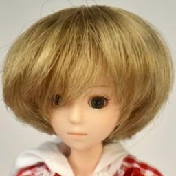 Парик объемное каре, натуральный блондин 4 inch