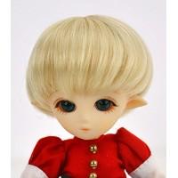 Парик короткая стрижка, термостойкий  , медовый блондин 3,5 inch