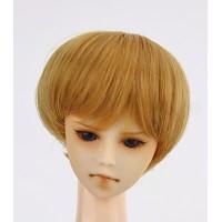 Парик короткая стрижка, термостойкий , светло-коричневый 3,5 inch