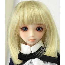 Парик средней длины, стрижка с ровным срезом, медовый блондин, 4,5 inch.