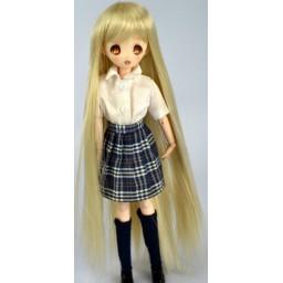 Парик длинный, термостойкий медовый блондин 5 inch