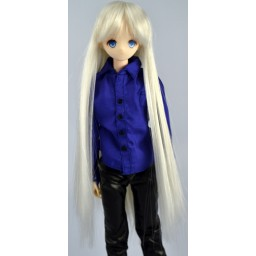 Парик длинный, термостойкий, платиновый блондин 5 inch