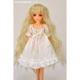 Парик волнистый термостойкий медовый блондин. 4 inch
