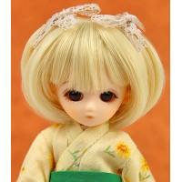 Парик короткий боб с маленькими хвостиками медовый блонд 4 inch