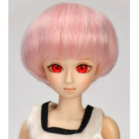 Парик короткий боб, розовый микс 4 inch