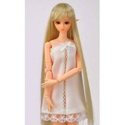 Парик с челкой,  длинный,  медовый блондин 3.5 inch