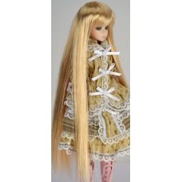 Парик с челкой,  длинный, светлый блондин 3.5 inch