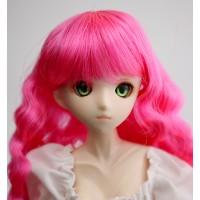 Парик волнистый, ярко-розовый. 4,5 inch