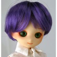 Парик короткий фиолетовый 4,5 inch