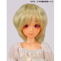 Парик , многослойная стрижка, медовый блонд, 4 inch