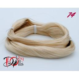 Волосы для кукол - саран, цвет 74