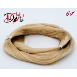 Волосы для кукол - саран, цвет 64