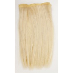 Синтетический тресс из термостойких волос, светлый блондин