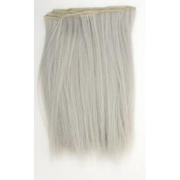 Синтетический тресс из термостойких волос, светло-серый