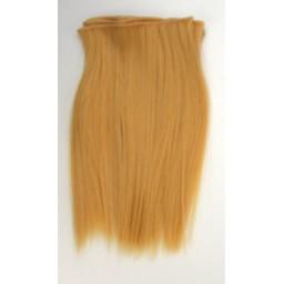 Синтетический тресс из термостойких волос, карамельный