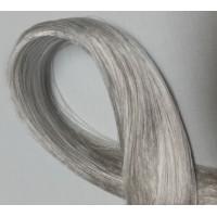 Волосы для кукол - саран, цвет 18, серебряный.