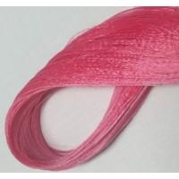Волосы для кукол - саран, цвет 31 горячий розовый