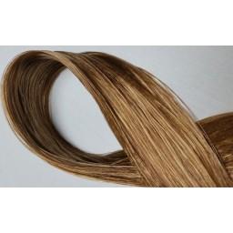 Волосы для кукол - саран, цвет 56 золотистый коричневый