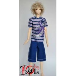 Комплект мужской фиолетовый