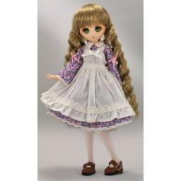 Платье с фартуком для Обитсу 21-23 см