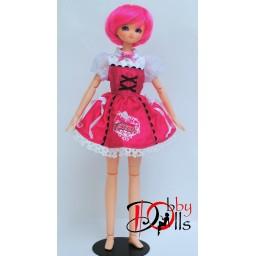 Платье TAKARA licca, розовое