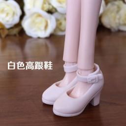 Белые туфельки с ремешком