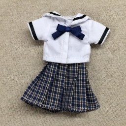 """Комплект """"форма японской школьницы"""" синяя"""
