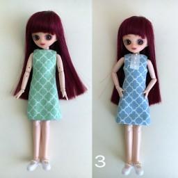 Двухстороннее хлопковое платье 3
