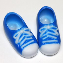 Кеды с магнитами голубые, для кукол Обитсу 11 см