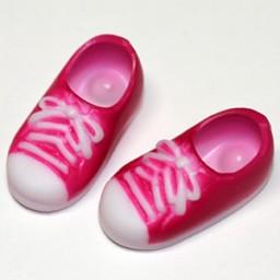Кеды с магнитами розовые, для кукол Обитсу 11 см