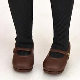 Туфельки для Обитсу 24, коричневые.