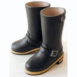 Английские сапожки для девушек Обитсу 27 см, черные