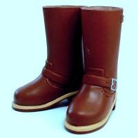 Английские сапожки для девушек Обитсу 27 см, коричневые
