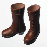 Сапожки женские для девушек Обитсу коричневые