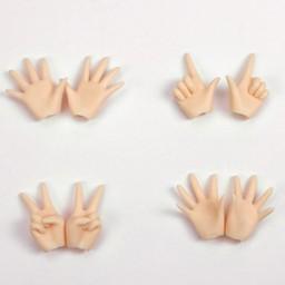 Набор дополнительных жестовых ручек для Обитсу 24, натуральный тон