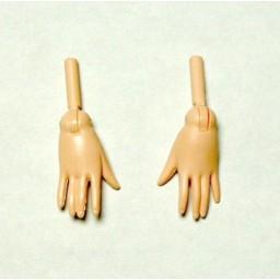 Запасные кисти рук для девушек Обитсу 27 см, белый тон