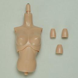 Бюст для жесткого тела Обитсу 27, белый тон.