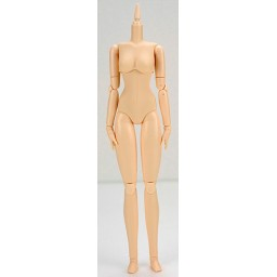 Женское тело 27 см, мягкое, грудь маленькая, белый тон