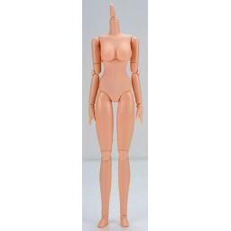 Женское тело 27 см, мягкое, грудь средняя, натуральный тон с магнитами