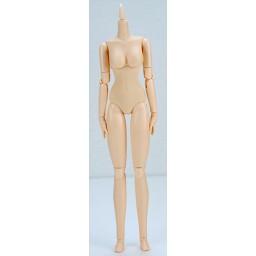 Женское тело 27 см, мягкое, грудь средняя, белый тон