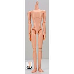 Мужское стройное тело, натуральный тон с магнитами