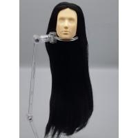 Голова юноши Синьи , модель 1 , длинные черные волосы