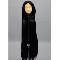 Голова юноши Синьи , модель 2-а, длинные черные волосы