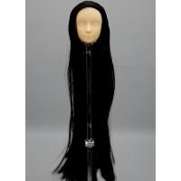 Голова юноши Синьи , модель 2-б, длинные черные волосы