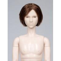 Голова юноши Синьи , модель 3 , короткая стрижка, шатен